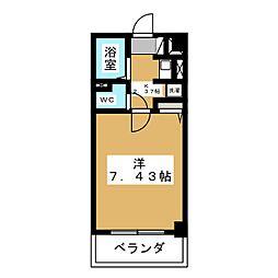 あさひレジデンス五番館[4階]の間取り