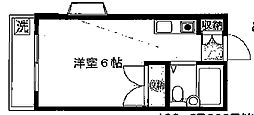 埼玉県新座市東北1丁目の賃貸アパートの間取り