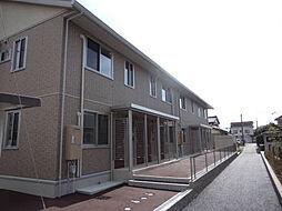 富山県富山市向新庄町2丁目の賃貸アパートの外観
