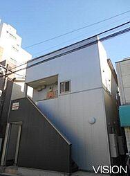 駅前通りハイツ[201号室]の外観
