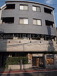 東京都品川区旗の台2丁目の賃貸マンションの外観