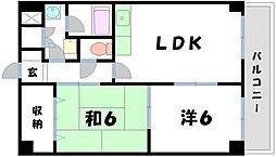 オオケイビル[2階]の間取り