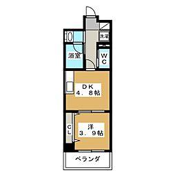 アメイジング桂[1階]の間取り