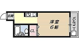 ラクティー大宅[9号室号室]の間取り