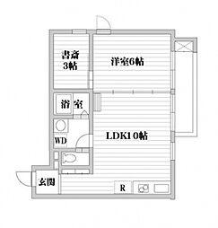 ATRIUM・T[3階]の間取り