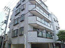 東京都足立区新田3丁目の賃貸マンションの外観