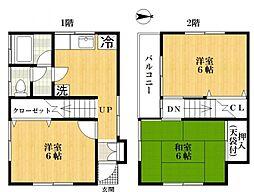 [一戸建] 東京都江戸川区一之江3丁目 の賃貸【/】の間取り