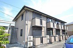 東京都八王子市廿里町の賃貸アパートの外観