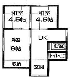 [一戸建] 千葉県市原市青柳 の賃貸【/】の間取り