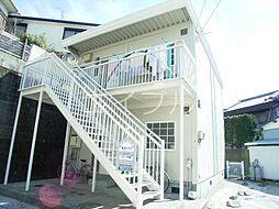北川ハイツII[1階]の外観