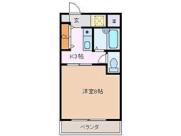 Kハウス[5階]の間取り