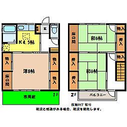 [タウンハウス] 長野県伊那市荒井 の賃貸【/】の間取り