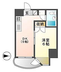 メゾン覚王山[4階]の間取り