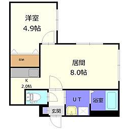 南郷18丁目駅 4.9万円