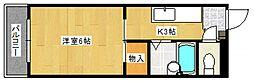 第2秋葉ビル[2階]の間取り