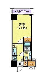 サンスタレ浅草[14階]の間取り