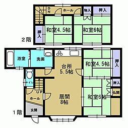 1階和室2部屋...