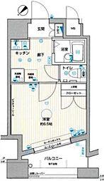 ラグジュアリーアパートメント中目黒[3階]の間取り