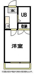 リュエル金沢文庫[2階]の間取り