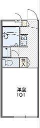 レオパレスアーク 206[2階号室]の間取り