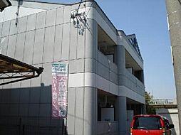 愛知県一宮市起字用水添の賃貸アパートの外観