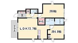 飾磨駅 7.4万円