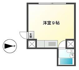 ユニーブル新栄[9階]の間取り