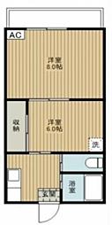 Verde  bt[-210号室]の間取り