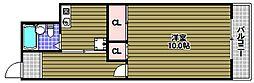 グリーンヒルハイツ[1階]の間取り