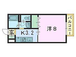 アイビー21 C[1階]の間取り