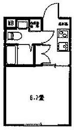 マリーナヨコハマベイサイド[2階]の間取り