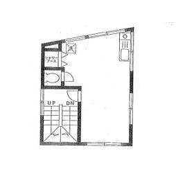 長縄ハウス[2階]の間取り