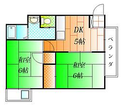 第二吉田ビル[4階]の間取り