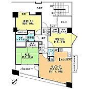 71.79平米・12階部分