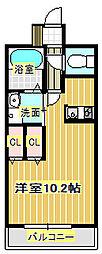 箕面サウンドヒルズ27[9階]の間取り