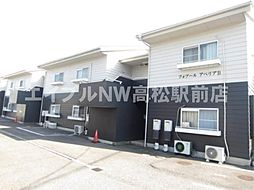 香川県高松市多肥上町の賃貸マンションの外観