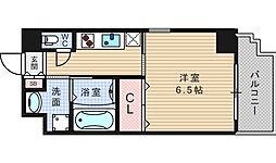 アール大阪グランデ[11階]の間取り