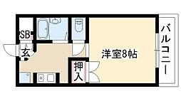 愛知県日進市浅田町東前田の賃貸マンションの間取り
