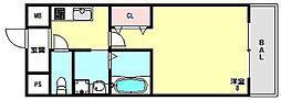 兵庫県神戸市長田区梅ケ香町1丁目の賃貸マンションの間取り