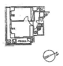 フラットワセダ[6階]の間取り