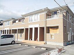 岡山県総社市駅前2丁目の賃貸アパートの外観