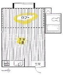 千川ハイツ[2階]の間取り