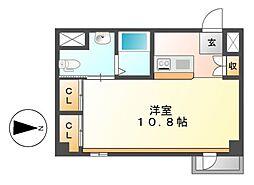 KDXレジデンス東桜I[18階]の間取り