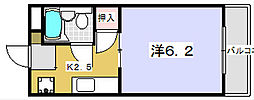 山本ホワイトハウス[103号室]の間取り