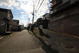 前面道路の街並...