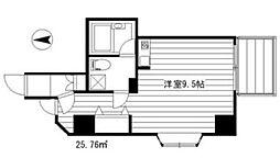 Villa S[501号室]の間取り