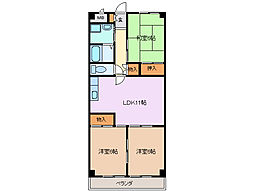 杉善第2ビル[1階]の間取り