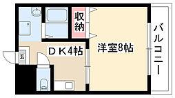 愛知県名古屋市南区東又兵ヱ町4丁目の賃貸マンションの間取り