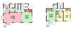 [一戸建] 神奈川県厚木市森の里3丁目 の賃貸【/】の間取り