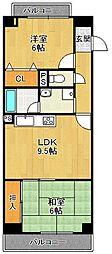 ルックヒルズ[8階]の間取り